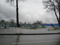 Торговые ряды в центре города Докшицы