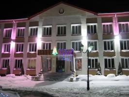 Новый 2011 год в Докшицах.Докшицкий районый совет депутатов Витебской области